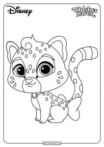 Printable Palace Pets Sandstorm Pdf Coloring Page