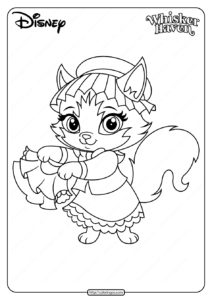 Printable Palace Pets Tillie Pdf Coloring Page
