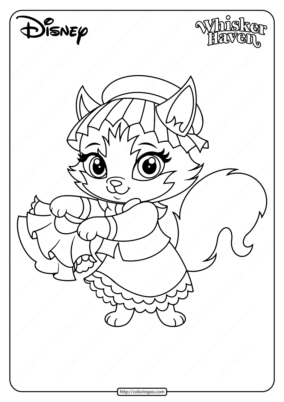 Printable Palace Pets Tillie Pdf Coloring Page