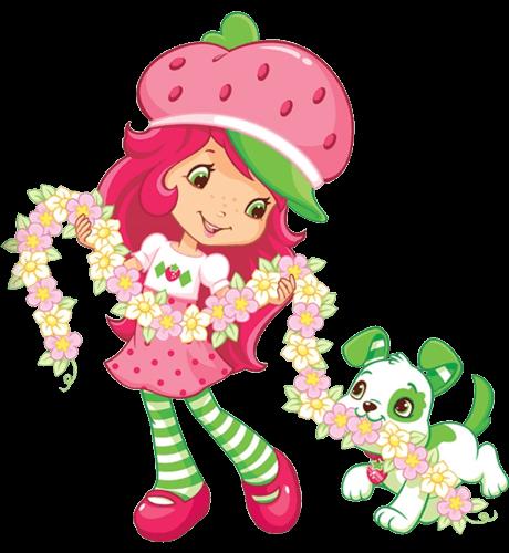 Strawberry Shortcake Pupcake