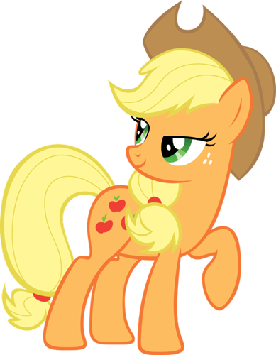 Printable My Little Pony Applejack Pdf Coloring Pages