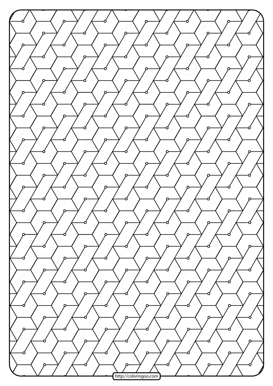 Free Pdf Abstract Geometric Monochrome Pattern