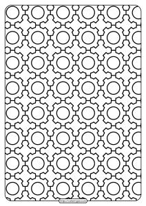 Free Printable Gear Outline Pdf Patterns 01