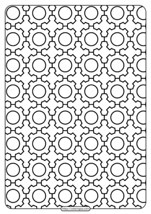 Free Printable Gear Outline Pdf Patterns 01