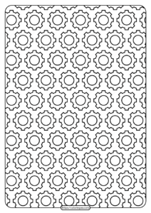 Free Printable Gear Outline Pdf Patterns 02
