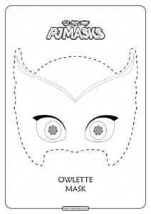 Free Printable Owlette PJ Masks Coloring Page