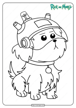 Free Printable Snuffles Snowball Pdf Coloring Page