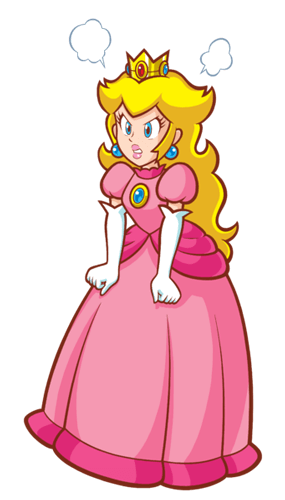 Printable Super Princess Peach Pdf Coloring Page