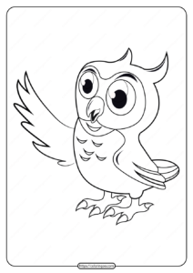 Free Printable Animals Bird Pdf Coloring Pages 14
