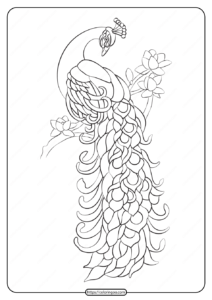 Free Printable Animals Bird Pdf Coloring Pages 17