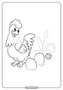 Free Printable Animals Bird Pdf Coloring Pages 28