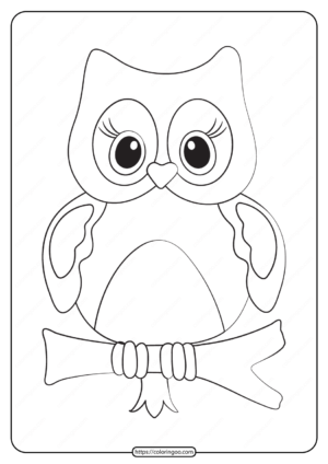 Free Printable Animals Bird Pdf Coloring Pages 29