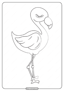 Free Printable Animals Bird Pdf Coloring Pages 31