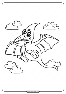 Free Printable Animals Dinosaur Coloring Pages 03