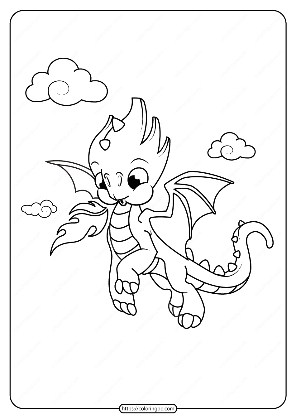 Free Printable Animals Dinosaur Coloring Pages 23