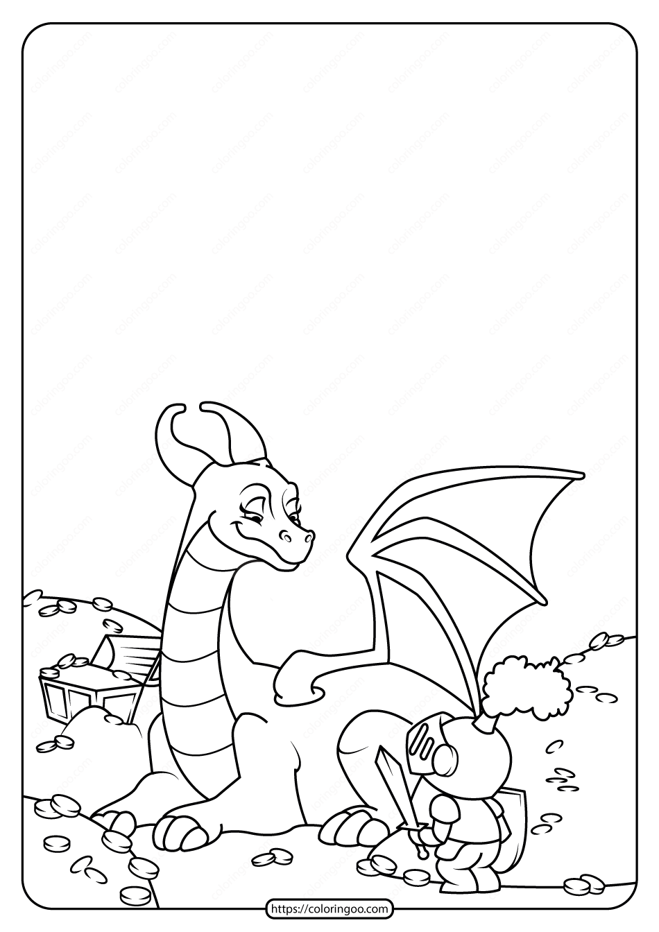 Free Printable Animals Dinosaur Coloring Pages 25
