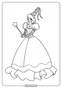 Free Printable Princess Pdf Coloring Pages 06
