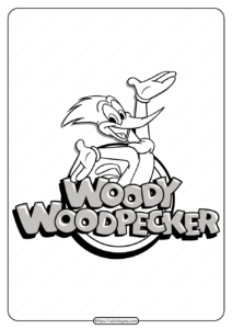 Free Printable Woody Woodpecker Coloring Pages 03