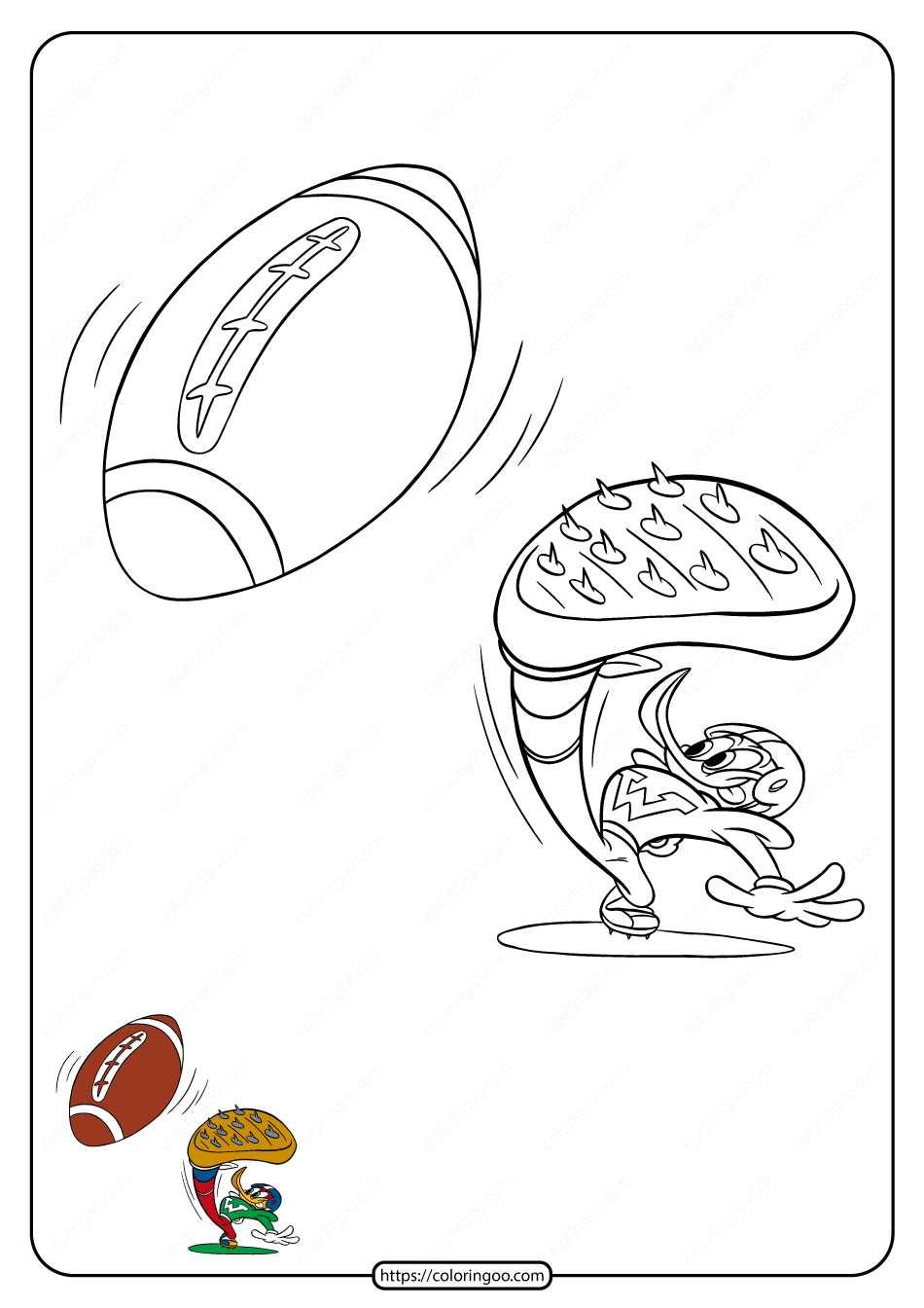 Free Printable Woody Woodpecker Coloring Pages 19
