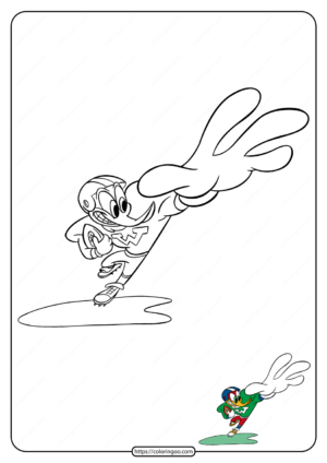 Free Printable Woody Woodpecker Coloring Pages 23