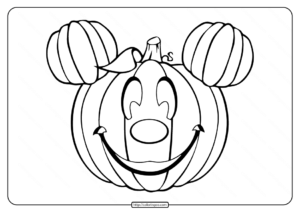 Charming Pumpkins Coloring Pages