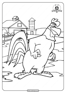 Printable Foghorn Leghorn Coloring Pages
