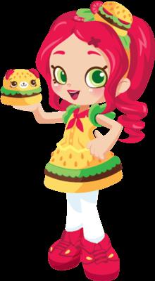 Shopkins Chelsea Cheeseburger