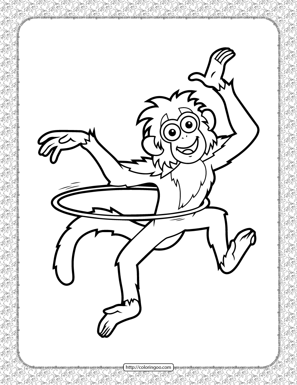 Bobo Coloring Pages