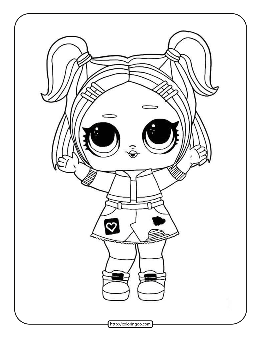 Free LOL Surprise Coloring Pages