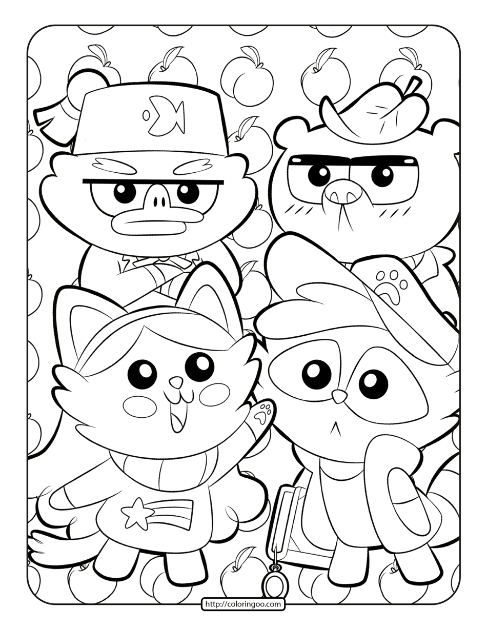 Printables Gravity Falls Coloring Pages