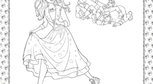 Barbie Princess Adventure Coloring Pages 27
