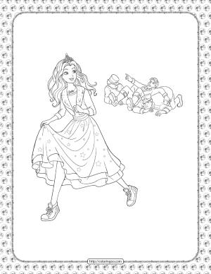 Barbie Princess Adventure Coloring Pages 27