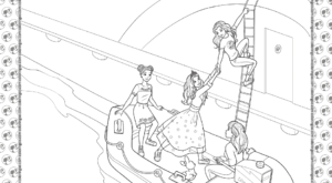 Barbie Princess Adventure Coloring Pages 30