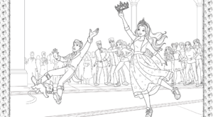 Barbie Princess Adventure Coloring Pages 32