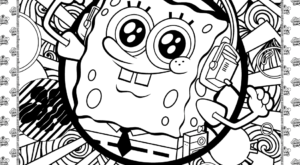 Free SpongeBob Coloring Sheet