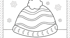 Skullcap Coloring Page