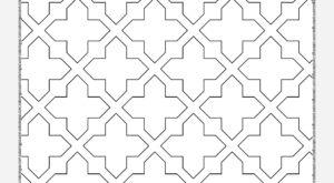 Free Printable Geometric Pattern 032