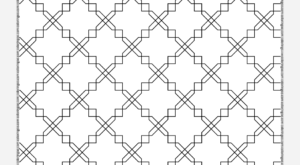 Free Printable Geometric Pattern 033