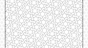 Free Printable Pdf Geometric Pattern 035