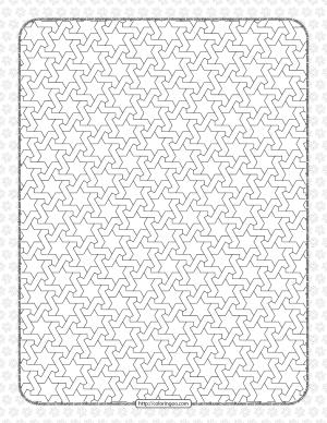 Free Printable Pdf Geometric Pattern 035