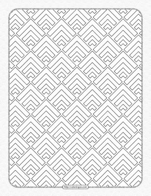 Free Printable Pdf Geometric Pattern 036
