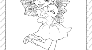 Printable Enchantimals Patter Peacock Coloring Page