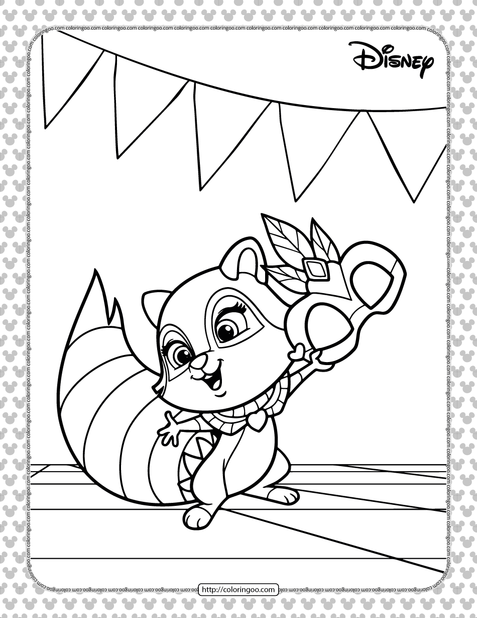 Whisker Haven Tales Windflower Coloring Page
