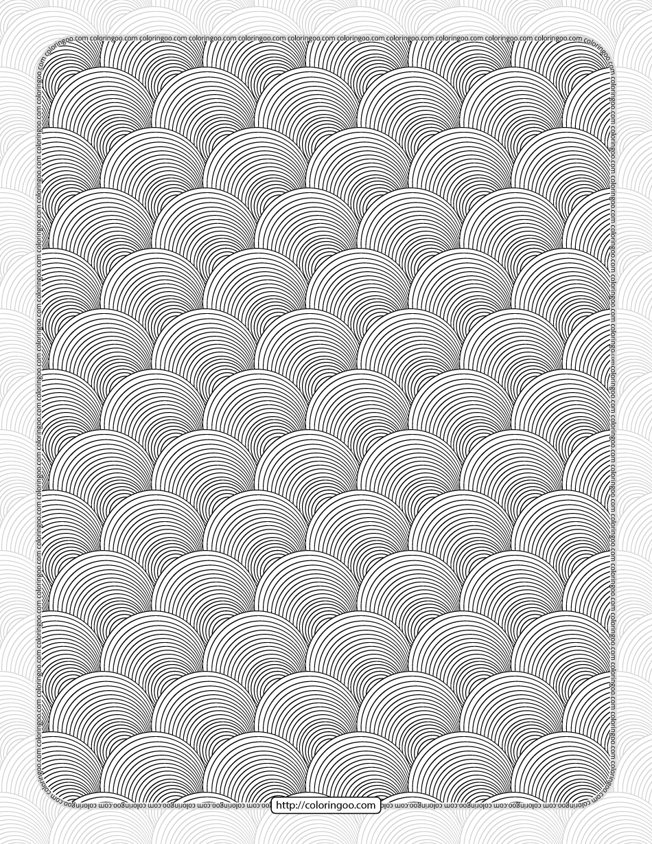 Black and White Seamless Pdf Pattern Sheet
