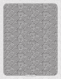 Printable Squares & Circles Pattern Coloring Sheet