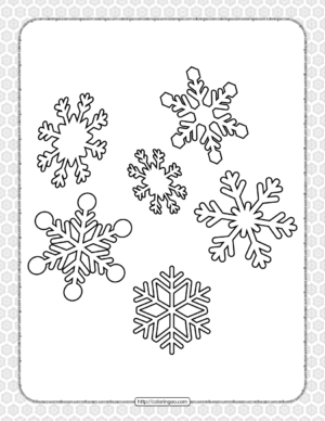 Printable Happy Christmas Coloring Pages 01