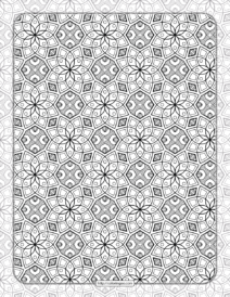 Printable Ornamental Mandala Coloring Pages 01