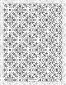 Printable Ornamental Mandala Coloring Pages 01