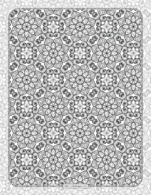 Printable Ornamental Mandala Coloring Pages 02