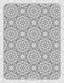 Printable Ornamental Mandala Coloring Pages 02